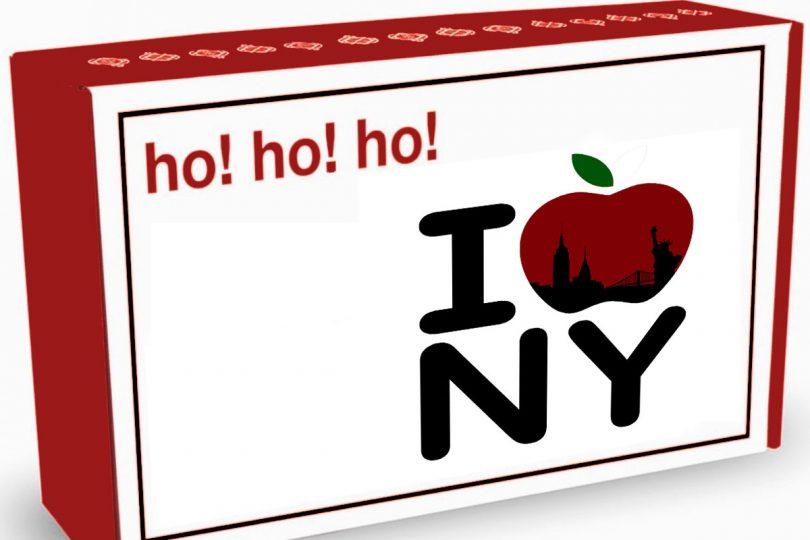 Cajas personalizadas para cestas de Navidad