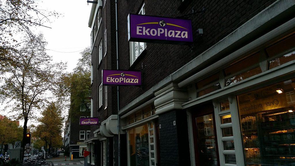Una de las tiendas Ekoplaza en Amsterdam