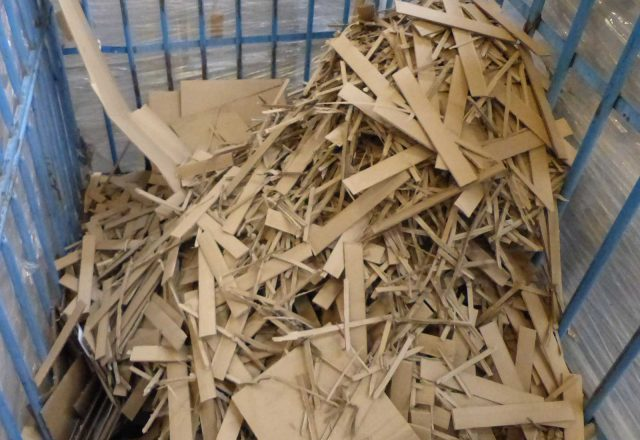 Reciclaje de cartón ondulado