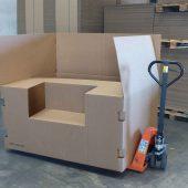 Cajas de cartón para la automoción