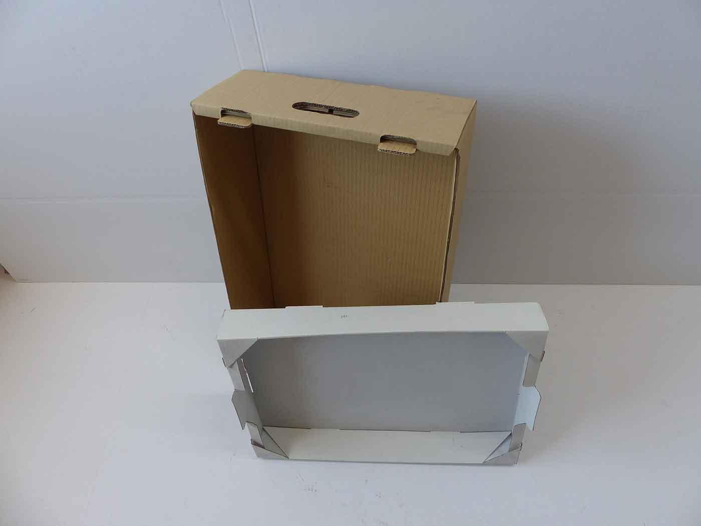 Cajas de cartón para frutas y verduras