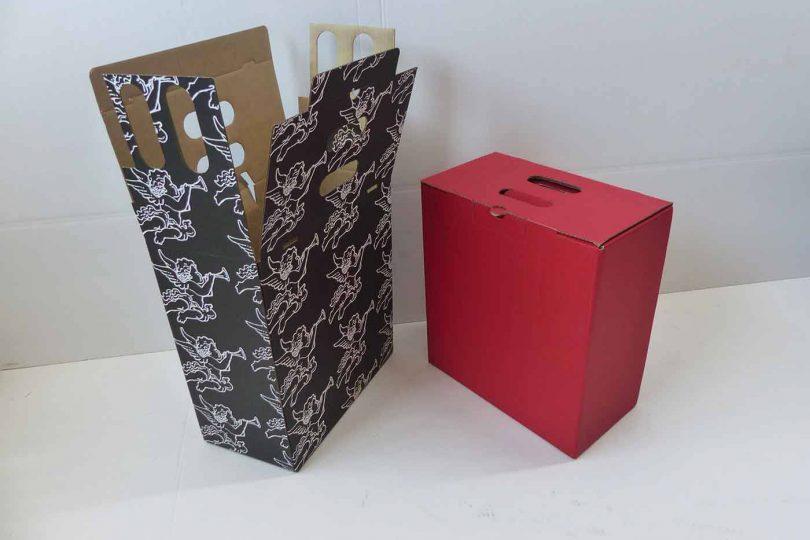 Cajas para botellas de vino