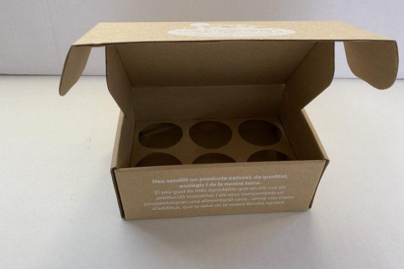 Hueveras de cartón, cajas para huevos